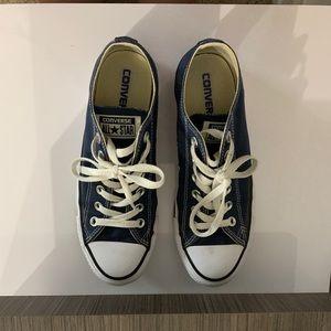 Blue Original Converse